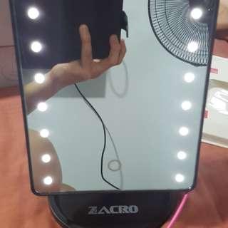 LED lightup mirror