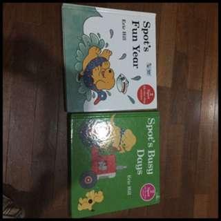 Pre-loved spot books x 2