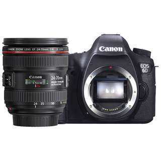 NEW Canon 6D Camera + Canon EF 24-70mm f4 L IS Lens
