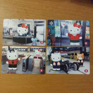 MTR x Hello kitty紀念車票!