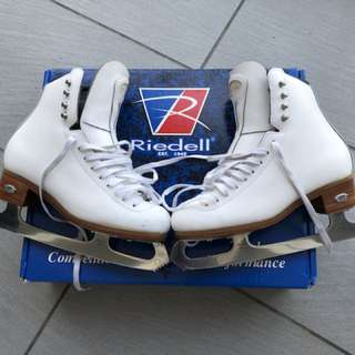 Riedell Ice Skating boots 溜冰鞋