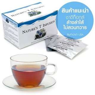 Nature S T Infusion Unicity Herbal Detoxification in The Colon 30 Tea Bags