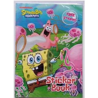 Spongebob Squarepants Sticker Book
