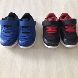 Authentic Nike shoes- blue