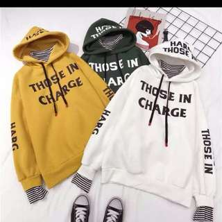 high neck hoodie  size : M , L , XL , XXL colour : green , yellow , white  price : male / female - RM44 for one pcs ( postage : RM8 ) couple - RM67 for one set ( 2pcs ) free postage
