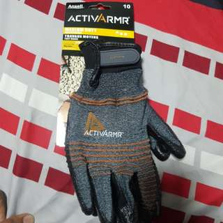 Ansell ActivArmr Nitrile Gloves(Similar to 3M)