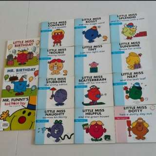 Mr Men & Little Miss Books