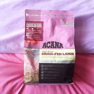 ACANA Grass-Fed Lamb Dog Food 2kg
