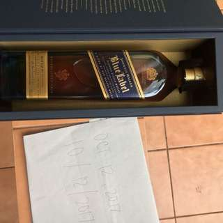 Blue Label 1000ml with box from US