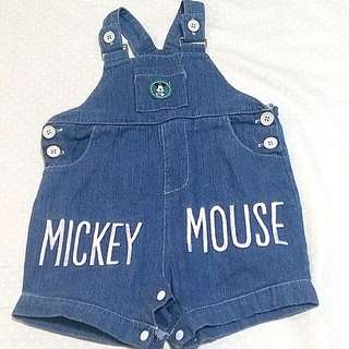 Mickey Mouse Maong Overalls