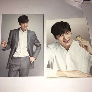 韓國直送 李敏鎬 男神 LEE MINHO POST CARD SET SEVEN LUCK CASINO KOREA GRAND SALE 3R 一套5張 包郵