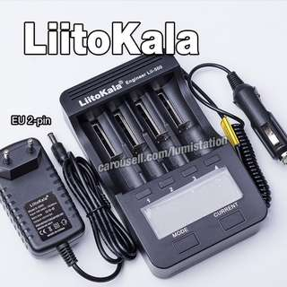 [Best Seller - $37]  LiitoKala Engineer Lii-500 4-slot 18650 18350 14500 26650 Li-ION and AA AAA Ni-MH 1A/ch Fast Charger