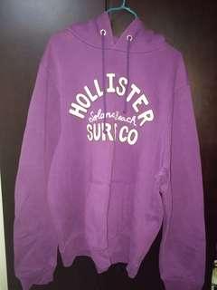 Hollister 紫色衞衣