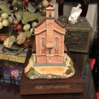 The little Island Presbyterian Church display model
