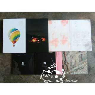 CLEARANCE BTS PRELOVED ALBUM