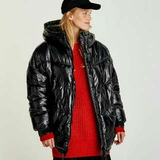 Pull & Bear Shinny Puffer Jacket