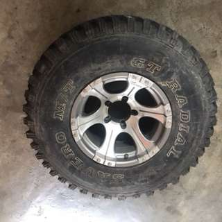 Spare Tyre M/T for Jeep