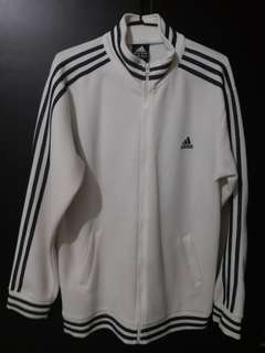 Adidas 白色運動外套