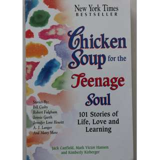 English books (Chicken Soup for the Teenage Soul )