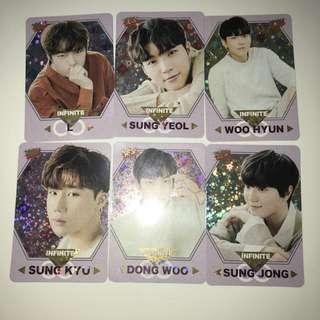 Infinite Yes!Card 第30期 閃卡