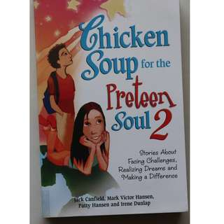 English books (Chicken Soup for the Preteen Soul 2 )