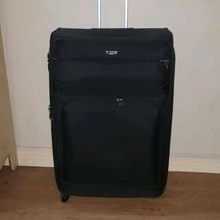 Delsey - black large luggage
