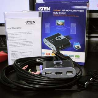 Aten CS692 KVM Switch (Used Once Only)