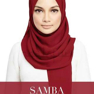 Original Naelofar Hijab Crush In Samba