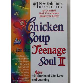 English books (Chicken Soup for the Teenage Soul 2 )