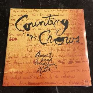 Counting Crows - August and everything after. Vinyl Lp. New