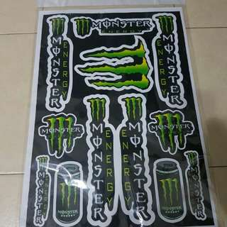 Monster energy drink sticker for sale!