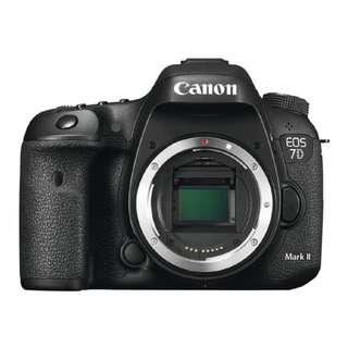 NEW Canon 7D Mark II Camera
