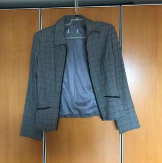🚚 「二手」古著格紋外套
