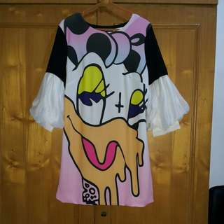 Cute dress dessy duck
