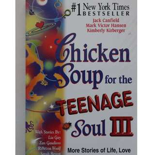 English books (Chicken Soup for the Teenage Soul 3 )