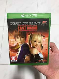 (NEW) Xbox One Dead Or Alive 5