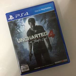 PS4 Unchartered 4 中英文合版 二手 包平郵