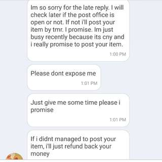 SCAMMER Hellevator DONT BUY FROM HER PT 2