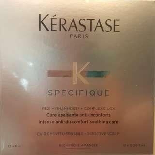 Brand New Keratase Paris Intense anti-discomfort soothing care for Sensitive Scalp