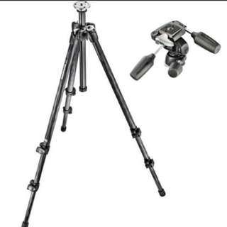 Steinzeiser tripod SZ-6301 with Pan tilt head and hexagonal quick release plate.
