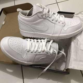 Nike Air Jordan 1 Low All White