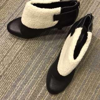 毛毛短boot easy matching