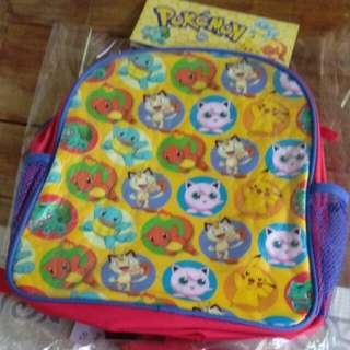 Pokemon Bag with free Lunch Bag