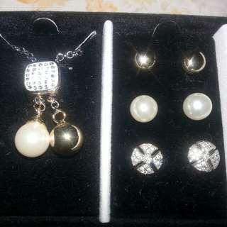 Brand New!!!!!!! Pierre Cardin Jewelry Set