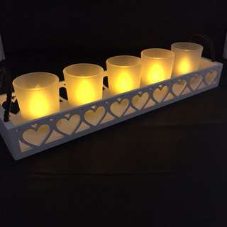 Candle Tealight with Holder