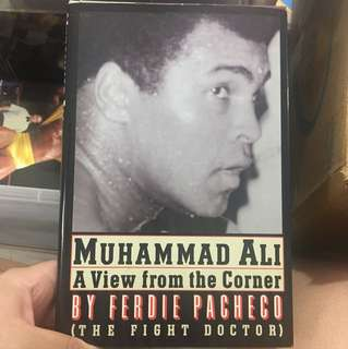 """Muhammad Ali """"A view from the corner by Ferdie Pacheco the fight doctor"""
