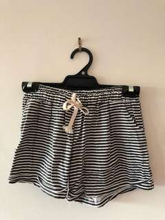 Relaxed Stripe Shorts.