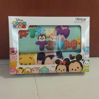 Japan Disney Tsum Tsum - Premium Towel 4pc Gift Set