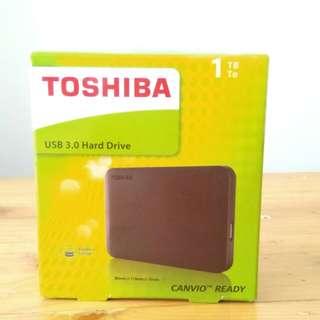 "DIJUAL MURAH! Harddisk External Toshiba 2.5"" 1TB USB 3.0"