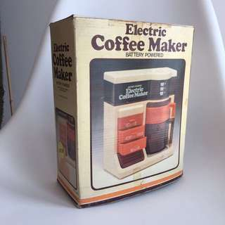 Vintage Retro Toy Coffee Maker